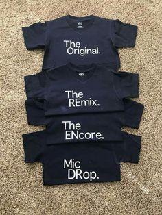 Sibling shirts - made with Cricut