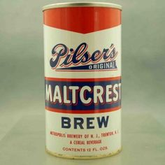 pilsers 116-4 flat top beer can 1