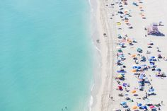 North Miami Nude Beach IV  Aerial Beach Photography