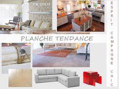 Planche Tendance maison de village