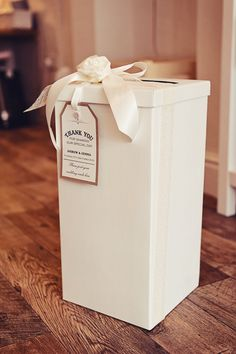 Wedding or Party Post Box & VintageRusticShabby by TheVowSheffield