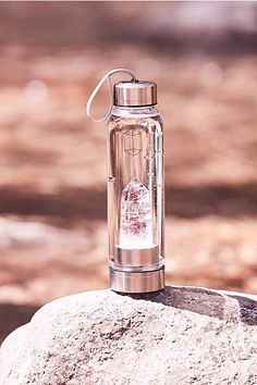 Slide View 1: Crystal Elixir Water Bottle