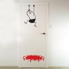 Wall Decal Save Wally | Humorous Wall Stickers | BellaKoola – BellaKoola - Cool Design Gift & Lifestyle Shop