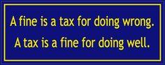 A Fine...A Tax....