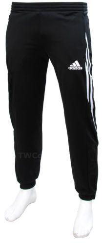 Adidas Sereno Full Mens Zip Tracksuit Jogging Top Bottoms 3 Stripe Size S -  XXL 9fa635ad8d93