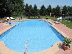 Roman End with Sun Deck Swimming Pool.