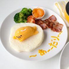 Gudetama Breakfast Food Art by Little Miss Bento