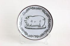 Georges Briard Pig Plate