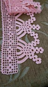Towel edge Best Picture For crochet bebes For Your Taste You are looking for something, and it is go Crochet Edging Patterns, Crochet Lace Edging, Crochet Motifs, Crochet Borders, Crochet Diagram, Thread Crochet, Love Crochet, Crochet Designs, Crochet Doilies