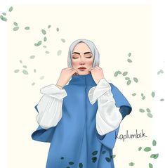 Flower Iphone Wallpaper, Cute Wallpaper Backgrounds, Cute Wallpapers, Friend Cartoon, Girl Cartoon, Cartoon Art, Hijab Drawing, Best Friend Drawings, Profile Picture For Girls