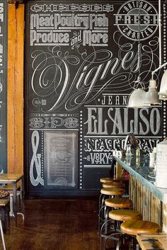 retail signage in store blackboard - Google Search