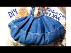 How to make handbag from old jeans | Don't waste your old jeans (try this) - YouTube
