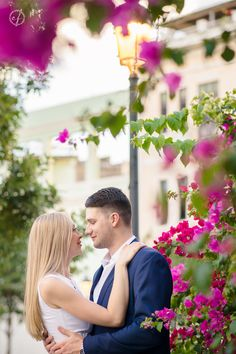 M & E's engagement session earlier today was the PERFECT warm-up for their wedding on Friday!