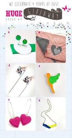 4 years EGST!!! HUGE GIVEAWAY CELEBRATION!!! Giveaways, Crochet Necklace, Kids Rugs, Greeks, 4 Years, Etsy, Competition, Celebration, Blog