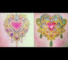 gem heart tattoo sketch Girly Tattoos, Love Tattoos, Beautiful Tattoos, Body Art Tattoos, Tatoos, Heart Tattoos, Feminine Tattoos, Flash Art Tattoos, Tattoo Sketches