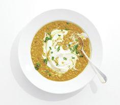 Barley and Lentil Soup  Vegetarian