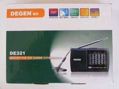 Degen De321 Radio Am fm sw Dsp Multibanda Onda Corta (kaito)