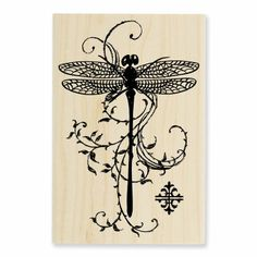 oohh.... a dragonfly stamp! I love dragonflies!