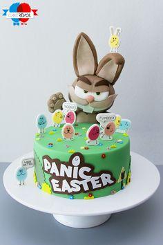 NOS CRÉATIONS - Panic Easter - CAKE RÉVOL - Cake Design - Nantes