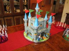 Knights and Castles Cake (feeds 54)