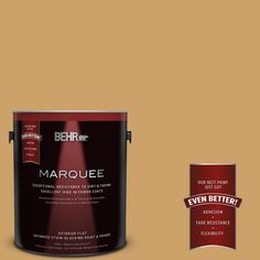 BEHR MARQUEE 1-gal. #MQ2-16 Summer in the City Flat Exterior Paint