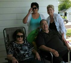 Cousin Lisa, Uncle Tony and Aunt Marilyn