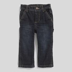 Tommy Hilfiger Little Boys Jean. For Those Tough Days At The Sand Box Our Durable Cargo Jeans. Equal Parts Comfy And Cute With Super-Cool Fading Down The Legs. More Details Cargo Jeans, Tough Day, Boys Jeans, Little Boys, Elastic Waist, Tommy Hilfiger, Comfy, Legs, Box