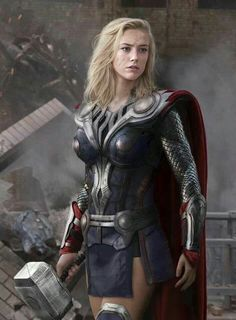 Funny pictures about Female Thor. Oh, and cool pics about Female Thor. Also, Female Thor photos. Marvel Cosplay, Lady Thor Cosplay, Batgirl Cosplay, Amazing Cosplay, Best Cosplay, Female Cosplay, Costume Thor, Female Thor Costume, Thor Girl