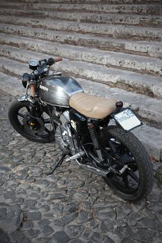 TREEMMEZZO - Moto Morini 350 by Emporio Elaborazioni - Roma , via Behance