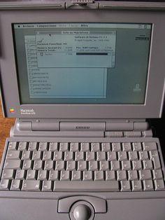 Apple Macintosh Powerbook 145B by retrocomputers, via Flickr