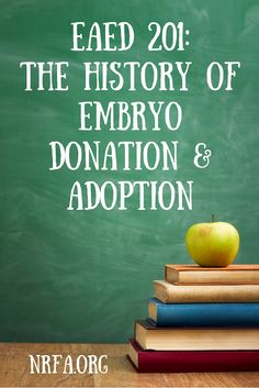 The History of Embryo Donation and Adoption begins with the invention of Invitro-fertilization (IVF) and continues to grow at the same rate as infertility. Great article that includes the story of the very first baby born from embryo adoption - a must read. Fascinating!