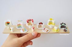 2017, Miniature cakes♡ ♡ By Heavenly Cake