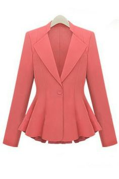an absolutely adorable, well tailored jacket - would be very smart looking with a below-the-knee pencil skirt