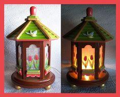 Tulip Night Light Lamp by RFClocksandLights on Etsy