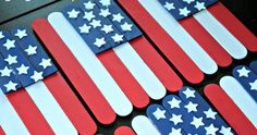 Patriotic craft ideas for kids and adults. Fourth of July and Memorial Da craft activities ideas. How to make patriotic crafts for adults, teens, children and preschoolers. Crafts For Kids To Make, Easter Crafts For Kids, Summer Crafts, Crafts For Teens, Art For Kids, Holiday Crafts, Holiday Ideas, How To Make, Fire Crafts