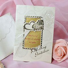 European Style Heart Design Wedding Invitation - Set of 50 – USD $ 21.59