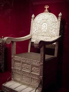 The ivory throne of Tsar Ivan The Terrible