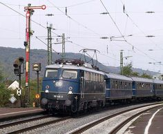 #German electric #locomotive BR 110 - Blauer Enzian