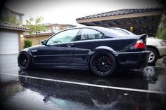 """aeropooch: """" my new ride- 2003 M3 """"Carbon Black"""" just picked up last week…can't…"""