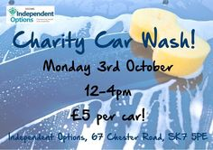 Charity Car Wash  #Stockport