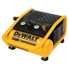 DEWALT D55140 1-Gallon 135 PSI Max Trim Compressor - http://www.homeimprovementoffer.com/air-compressors/dewalt-d55140-1-gallon-135-psi-max-trim-compressor/