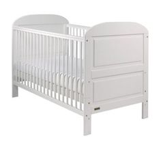 East Coast Nursery Angelina Cot Bed - White