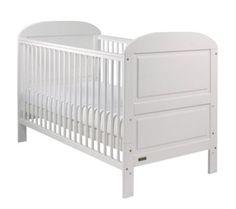 East Coast Nursery Angelina Cot Bed - White