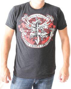 Orange County Choppers - OCC Dagger Vintage Black trI-blend fashion fit tee 50% poly, 25% cotton, 25% rayon