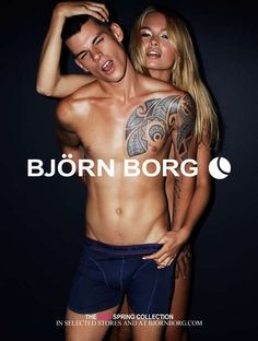 Steamy Swedish Underwear Ads Photos The Bjorn Borg SS 2012 lookbook is a sultry display of affection and luxury underwear. The line is influenced by sports and sporting apparel, focusing on high quality and modern design. This season