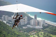 Hang Gliding in Rio de Janeirois an amazing sensation and it is within the reach of all visitors coming to Rio. Description from toursgonewild.com. I searched for this on bing.com/images