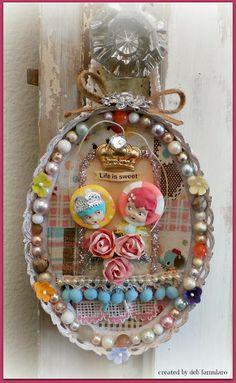 hanging frame W/ Lisa Kettell Designs~* Sparkling Scrapbooks *~