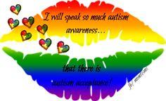 Autism Awareness & Acceptance <3