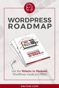[FREE DOWNLOAD] Website in Weekend: Design your WordPress website from layout to launch with this handy guide in 3 days. Includes all you steps you need to plan, create and promote a self-hosted #WordPress #website in no time. #buildawebsite #DIYwebsite #websitedesign #WordPress #Freebie #WebDesign #WProadmap #WebMentor #WordPressRoadmap #Solopreneur #WebsiteInWeekend #Layout2Launch #anitam.com #LearnWithAnitaM