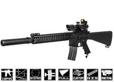 Airsoft GI Custom DMR Cataclysm HPA Airsoft Gun